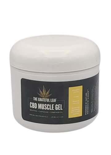 Grateful leaf Muscle Gel